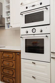 Cloudy home - oven and microwave — Stock Photo