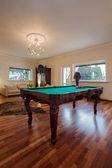 Cloudy home - billiard table — Foto Stock
