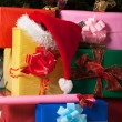 Stock Photo: Stack of gifts.