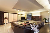 Spacious living room — Stockfoto