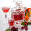 Alcoholic beverage from fruits — Stock Photo