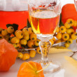 Traditional recipe liqueur — Stock Photo