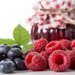 Multifruit homemade jam — Stock Photo