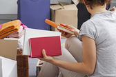 Moving to new apartament — Stock Photo