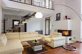 Comfortable living room — Stock Photo