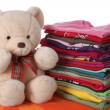 Stock Photo: Ironed children's clothes