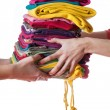 Ironed clothes  — Stock Photo