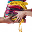 Stock Photo: Ironed clothes