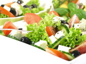 Close-up of greek salad — Stock Photo