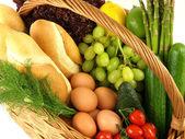 Closeup of a shopping basket — Stock Photo