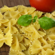 Raw farfalle pasta — Stock Photo