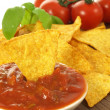 Nachos, closeup — Stock Photo