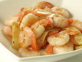 Bamboo prawns — Photo
