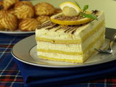 Lemon pie — Stock Photo