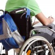 Stock Photo: Student on wheelchair