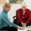 Active elderly — Stockfoto