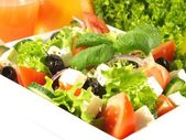 Mediterranean cuisine in restaurant — Stock Photo