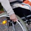 Disabled moving — Stock Photo