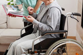 Caregiver — Stock Photo