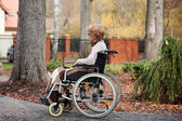 Disabled life — Stock Photo