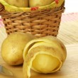 Potatoes for chips — Stock Photo