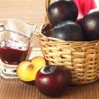 Fruity basket — Stock Photo