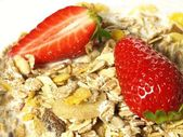 Muesli, closeup — Stock Photo