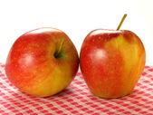 äpfel, isoliert — Stockfoto