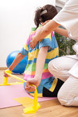 Preventive physiotherapy — Stock Photo
