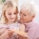 Birthday card for grandma — Stock Photo #37471161