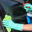 Car window washing — Stock Photo #37736205