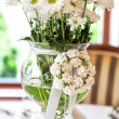Mediterranean interior - ox-eye daisy — Stock Photo