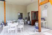 Mediterranean interior - terrace — Stock Photo