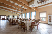 Mediterranean interior - elegant party — Stock Photo