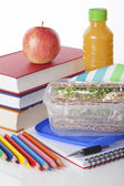 Well prepared school lunch — Stock Photo