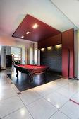 Elegant pool hall — Stock Photo