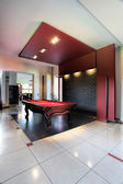 Elegant pool hall — Stock Photo