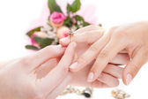 Put a ring on it — Stockfoto