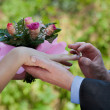 Getting married — Stock Photo #38350497