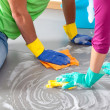 Stock Photo: Common cleaning