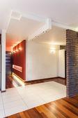 Prostorný byt - koridor — Stock fotografie