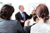 Business presentation — Stock Photo