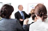 Business presentation — Stock Photo