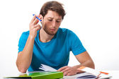 Student studying — Stock Photo