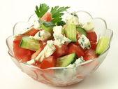 Gorgonzola salad — Stock Photo