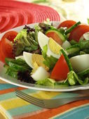 Low-fat vegetarian salad. — Stock Photo
