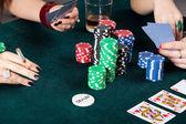 Gambling table — Stock Photo
