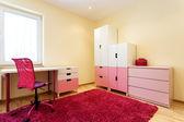 Cute pink children room — Stock Photo