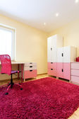 Nice pink room for girls — Foto Stock