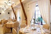Elegance luxury restaurant — Stock Photo